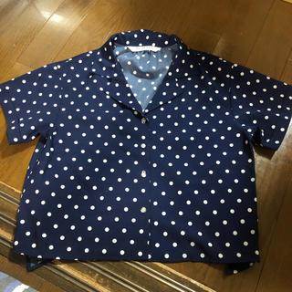 BEAMS BOY - Ray  BEAMS ドットシャツ
