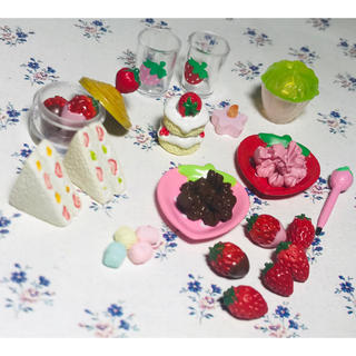 リーメント いちごちゃん家へようこそ ぷちサンプルシリーズ プチ デザート