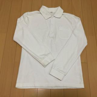 ニシマツヤ(西松屋)のポロシャツ 白 140(その他)