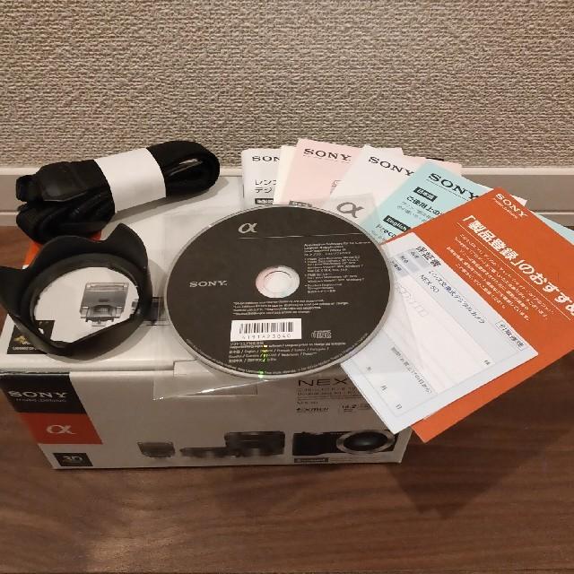 SONY(ソニー)のSONY α NEX-5Dダブルレンズキット スマホ/家電/カメラのカメラ(ミラーレス一眼)の商品写真