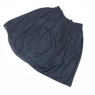 Spick and Span - 定価1万3千!スピックアンドスパン ネイビーのオーガンジースカート