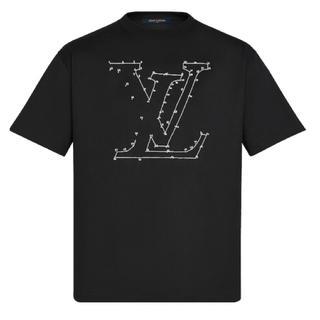 LOUIS VUITTON - ルイヴィトン  LVステッチプリントアンドエンブロイダリーTシャツ