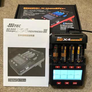 ミニ四駆 急速充電器 ハイテック X4アドバンスⅢ 箱&取扱説明書付き