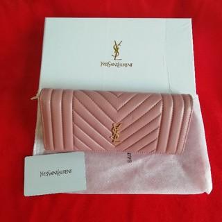 イヴサンローランボーテ(Yves Saint Laurent Beaute)の人気品美品! YSL 長財布(財布)