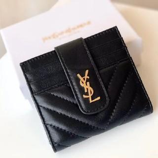 イヴサンローランボーテ(Yves Saint Laurent Beaute)の人気品美品! YSL 折り財布(財布)