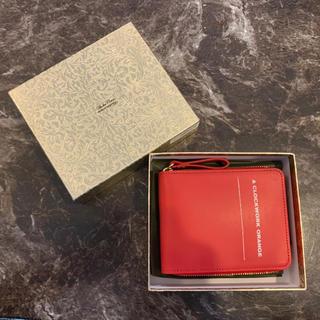 アンダーカバー(UNDERCOVER)のUNDERCOVER アンダーカバー 財布 ラウンドジップ 時計じかけのオレンジ(折り財布)