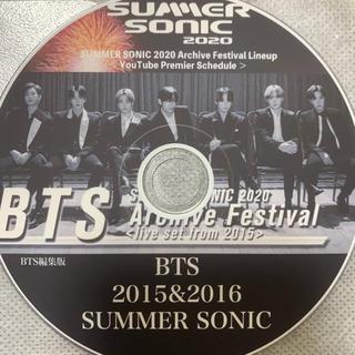 防弾少年団(BTS) - BTS SUMMER SONIC 編集版2020 DVD