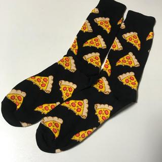 ピザ ソックス 靴下 ピザ柄