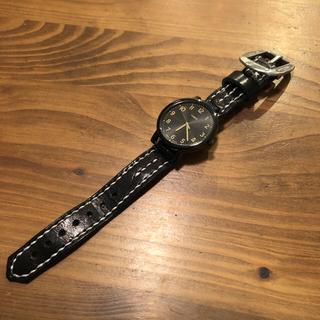 タイメックス(TIMEX)のタイメックス モダンイージーリーダー 本革レザーバンド ハンドメイド(腕時計(アナログ))