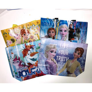 Disney - アナ雪トートバッグ4枚