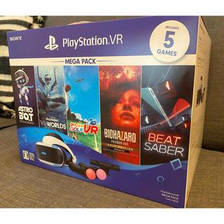 プレイステーションヴィーアール(PlayStation VR)の新品未使用!PlayStation VR MEGA PACK(家庭用ゲーム機本体)