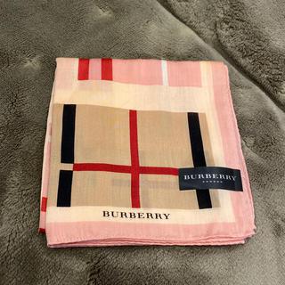 BURBERRY - バーバリー ハンカチ チェック ブルーミング中西