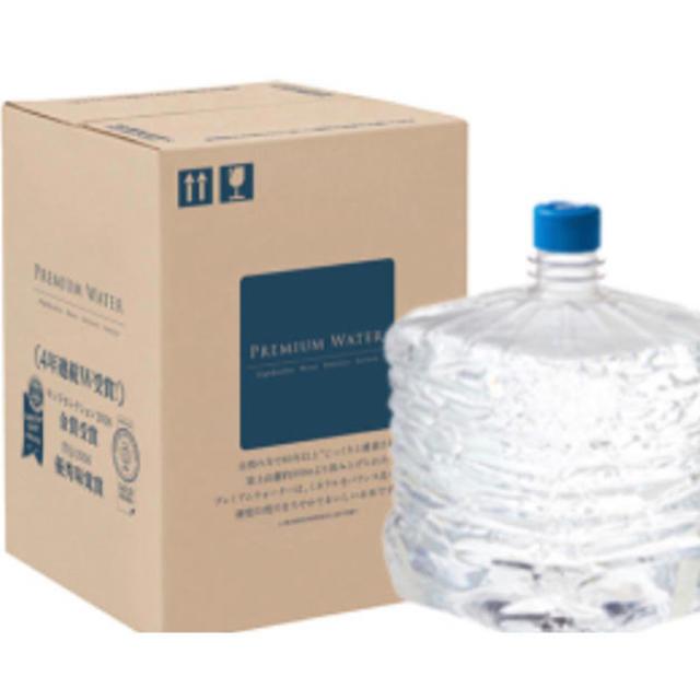プレミアムウォーター 二箱セット 食品/飲料/酒の飲料(ミネラルウォーター)の商品写真