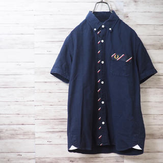 FRED PERRY - Fred Perry レジメンタル オックスフォードシャツ