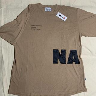 トリプルエー(AAA)のNaptime BIG T-SHIRTS-BEIGE Nissy(Tシャツ(半袖/袖なし))