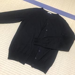 GU - カーディガン ブラック