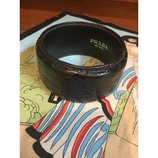 プラダ(PRADA)の正規品 プラダ PRADA 本革 ブレスレット(ブレスレット/バングル)