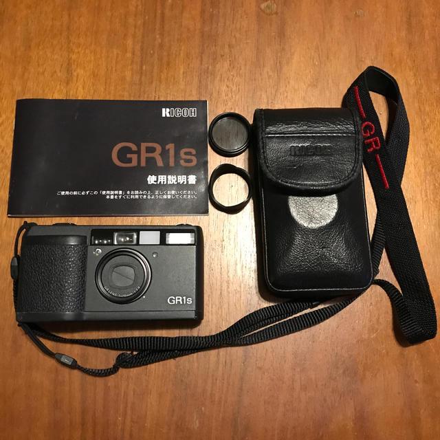 RICOH(リコー)のRICOH GR1s リコー スマホ/家電/カメラのカメラ(フィルムカメラ)の商品写真
