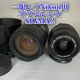 Nikon - Nikon用ダブルレンズ SIGMA 28-80mm、70-300mm AF