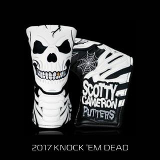 スコッティキャメロン(Scotty Cameron)のスコッティキャメロン ハロウィン パターカバー【KNOCK EM DEAD】(その他)
