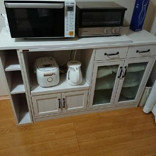 ニトリ(ニトリ)の食器棚  キッチンカウンター(キッチン収納)