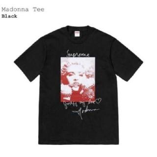 Supreme - Supreme Madonna Tee  L黑