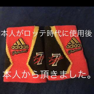 アディダス(adidas)の西岡 剛 選手  アディダス リストバンド adidas(スポーツ選手)