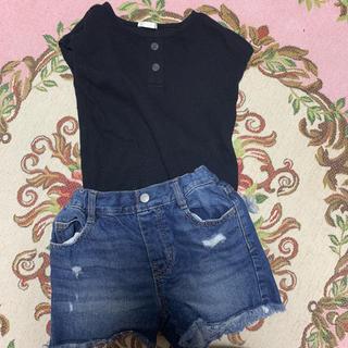 GU - GUのTシャツとパンツのセット
