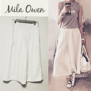 Mila Owen - 【ミラオーウェン】ワイドパンツ