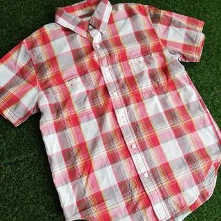 オシュコシュ(OshKosh)のOSHKOSH/チェックワークシャツ/新品タグ無保管品(シャツ)