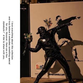 メディコムトイ(MEDICOM TOY)のBANKSY FLOWER BOMBER BANKSY花より男子MEDICOM(彫刻/オブジェ)