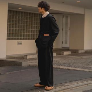 サンシー(SUNSEA)の【SUNSEA(20ss)】SNM-blue2 straight pant(スラックス)
