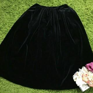 FOXEY - フォクシー レディフレアスカート黒