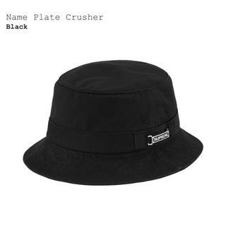 シュプリーム(Supreme)のsupreme  Name Plate Crusher(ハット)