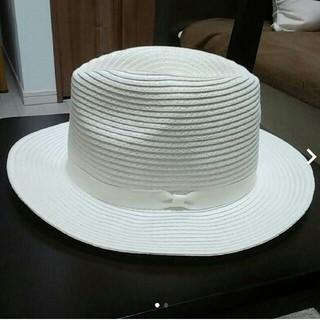 アルファキュービック(ALPHA CUBIC)のストローハット 麦わら帽子(麦わら帽子/ストローハット)