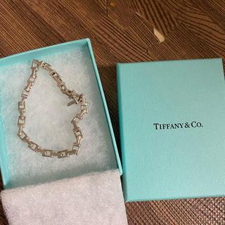 Tiffany & Co. - ティファニー Tiffany Tチェーン ナロー チェーン ブレスレット