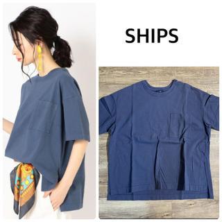 SHIPS - 【SHIPS】ピースダイチュニックTシャツ