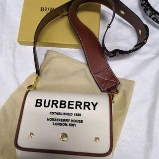 BURBERRY - BURBERRY 20SS ホースフェリークロスボディバッグ