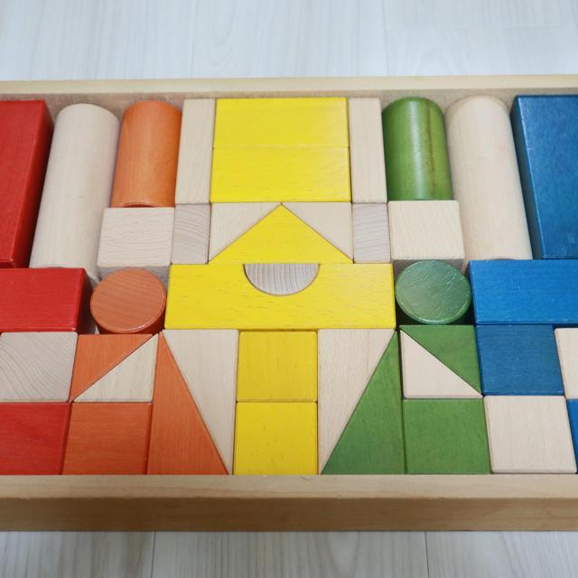 BorneLund(ボーネルンド)のボーネルンド 積み木 キッズ/ベビー/マタニティのおもちゃ(積み木/ブロック)の商品写真