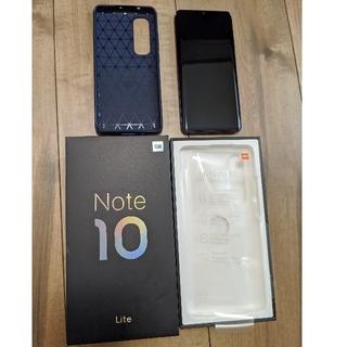 【美品】xiaomi Mi Note 10 Lite 6G 64G 国内版