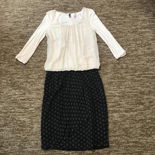 アンクライン(ANNE KLEIN)のANNE KLEIN II スカート(ひざ丈スカート)