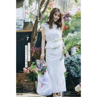 snidel - Mサイズ snidel 泉里香さん着用モデル コットンブラウス スカート セット