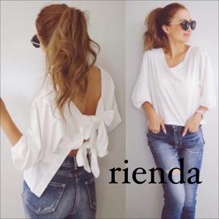 rienda - rienda バックダブルリボン トップス♡リップサービス RESEXXY