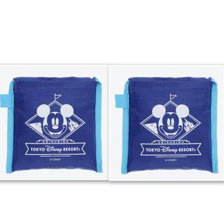 Disney - ディズニー ミッキー エコバッグ トートバッグ 2点セット