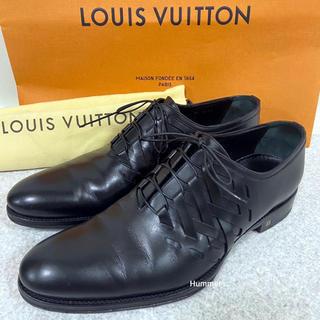 ルイヴィトン(LOUIS VUITTON)の国内正規 ルイヴィトン レースアップ デザイン ビジネスシューズ 26㎝ 美品(ドレス/ビジネス)