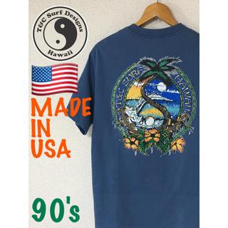 タウンアンドカントリー(Town & Country)のMADE IN USA 90's ヴィンテージ T&C タウン&カントリー(Tシャツ/カットソー(半袖/袖なし))