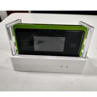 エヌイーシー(NEC)のSpeed Wi-Fi NEXT WX06  UQ WiMAX クレードル付き(PC周辺機器)