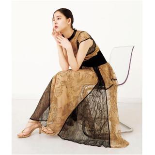 snidel - snidel スィッチングレースドレス