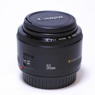 Canon - キヤノン単焦点 レンズ ❗️Canon EF50mm F1.8 ii ボケ味