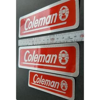 コールマン(Coleman)のコールマンのステッカーです。4枚セット(その他)
